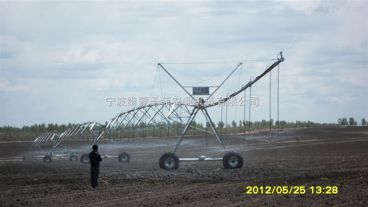 维蒙圣菲DYP-144电动圆型喷灌机土豆前期灌溉中