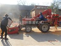 自动上料玉米脱粒机,拖拉机玉米脱粒机,四轮车脱粒机