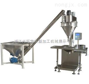 供应元兴半自动双头农药粉剂包装机