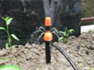 新款喷滴灌一体 地插式 可调雾化喷头