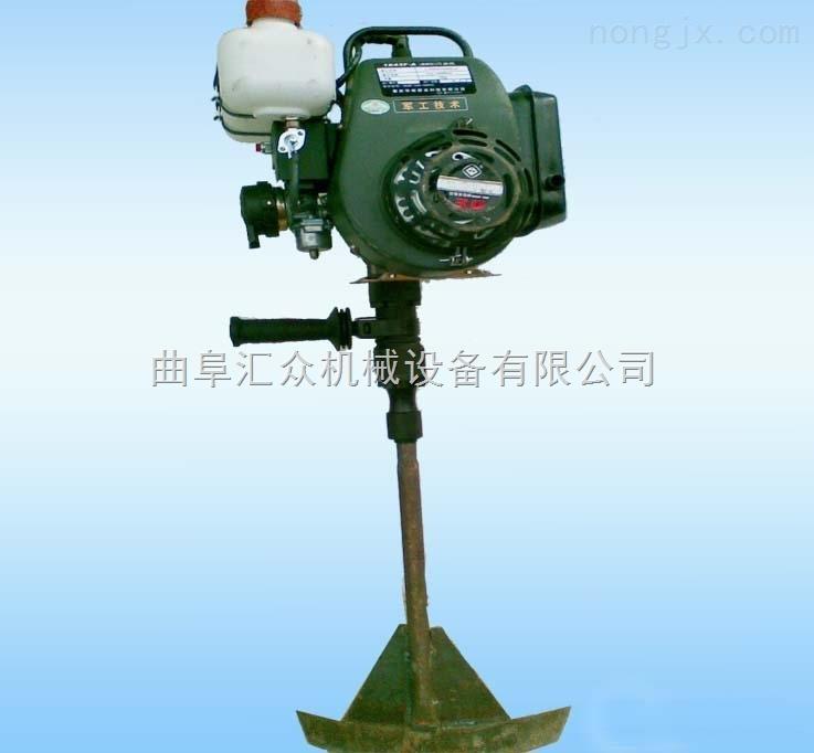 單人輕便式起球機,汽油斷根機 手提苗木起苗機