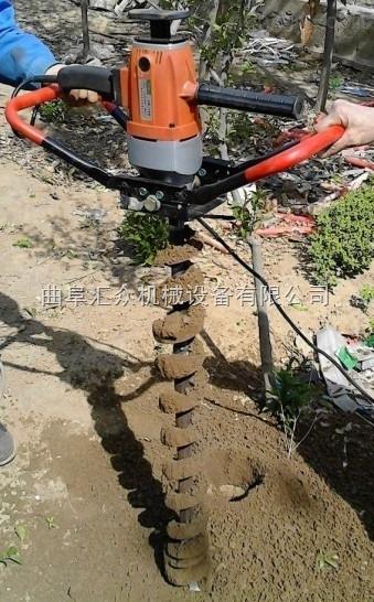 立樁用電動鑽孔機,草坪打孔機