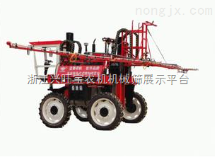供应远程宽幅自走式水稻喷药机,一天轻松喷300亩