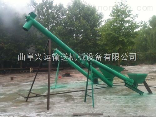垂直螺旋提升机 物料专用提升机 多功能饲料递料机19