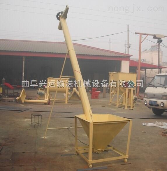 兴运占地面积小高效率螺旋绞龙|现货供应不锈钢螺旋提升机|垂直螺旋提升机17