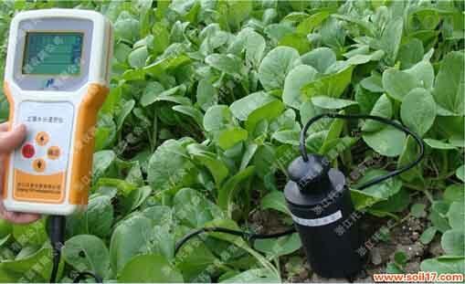 土壤水分测定仪TZS-I基础工作