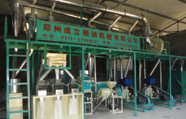 国内先进玉米深加工机械制造商—河南成立粮油机械。