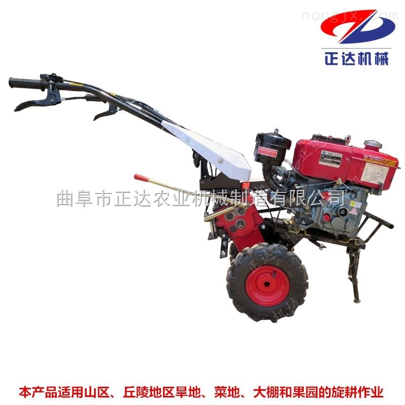 灭茬松土机 汽油微耕机价格 拖拉机旋耕机