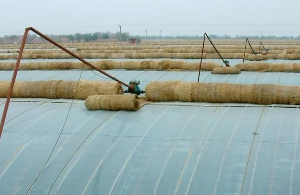 温室大棚卷帘工作原理,温室大棚卷帘使用方法与维护第1页 中国农机